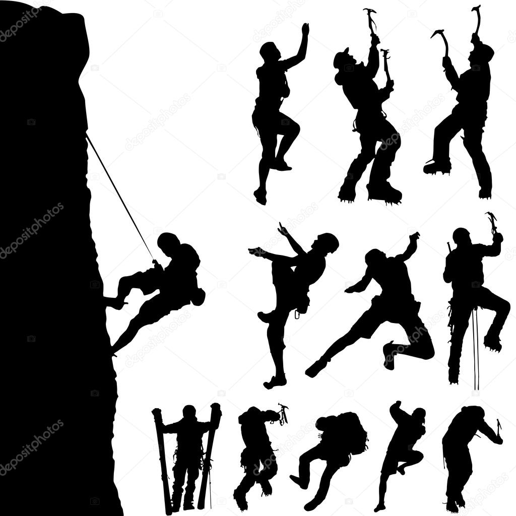 1024x1024 Mountain Climber Stock Vectors, Royalty Free Mountain Climber