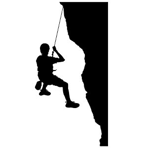 300x300 Rock Climbing Wall Decal Sticker 16