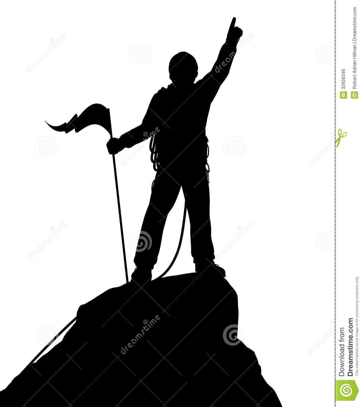 Mountain Climbing Clipart