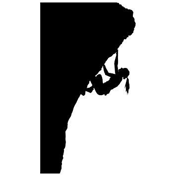 355x355 Rock Climbing Wall Decal Sticker 12