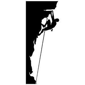 300x300 Rock Climbing Wall Decal Sticker 2