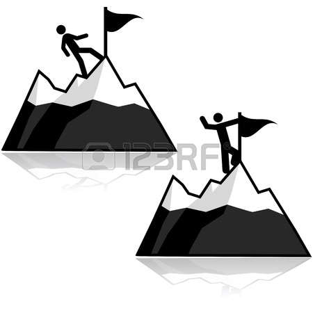 450x450 Summit Clipart Mountain Silhouette