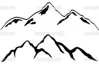 200x135 Best Hd Mountain Silhouette Clip Art Photos