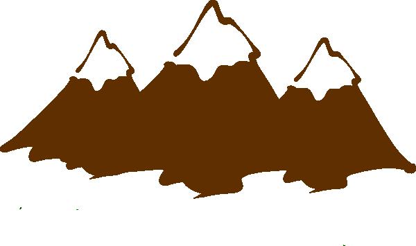 600x355 Brown Mountain Peaks Clip Art