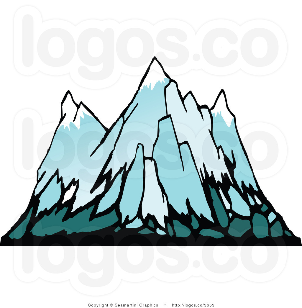 1024x1044 Mountain clipart snowy mountains