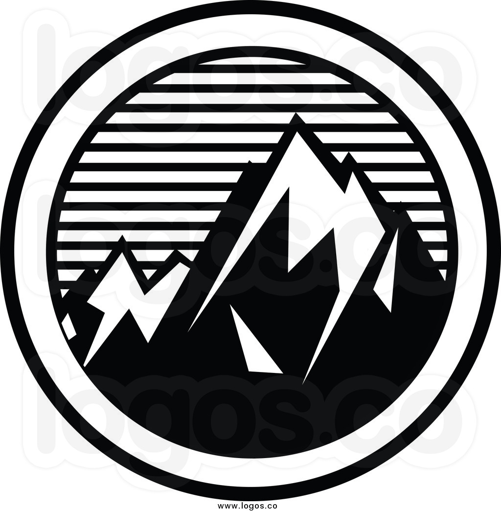 1024x1044 Mountain clipart triangle