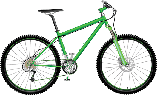 655x399 Mountain Bike Clipart