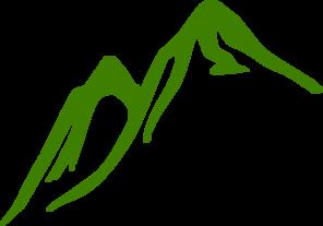 296x207 Green Mountain Clip Art