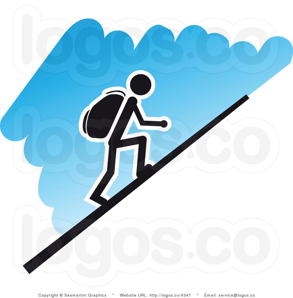 1024x1044 Hiking clipart logo
