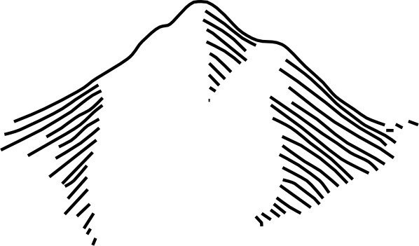 598x351 Mountains Clip Art Free Vector In Open Office Drawing Svg