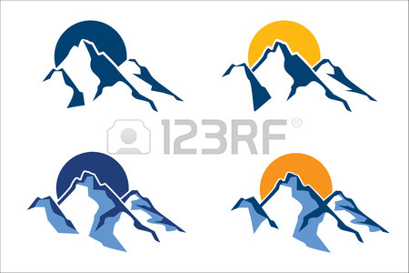 450x300 24,987 Mountain Peak Stock Vector Illustration And Royalty Free