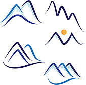 170x169 Mountain Peak Clip Art