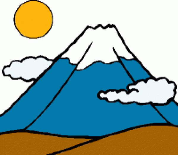 600x522 Mountain Clipart Clipart Cliparts For You