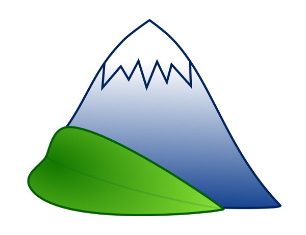600x461 Peak Clipart Green Mountain