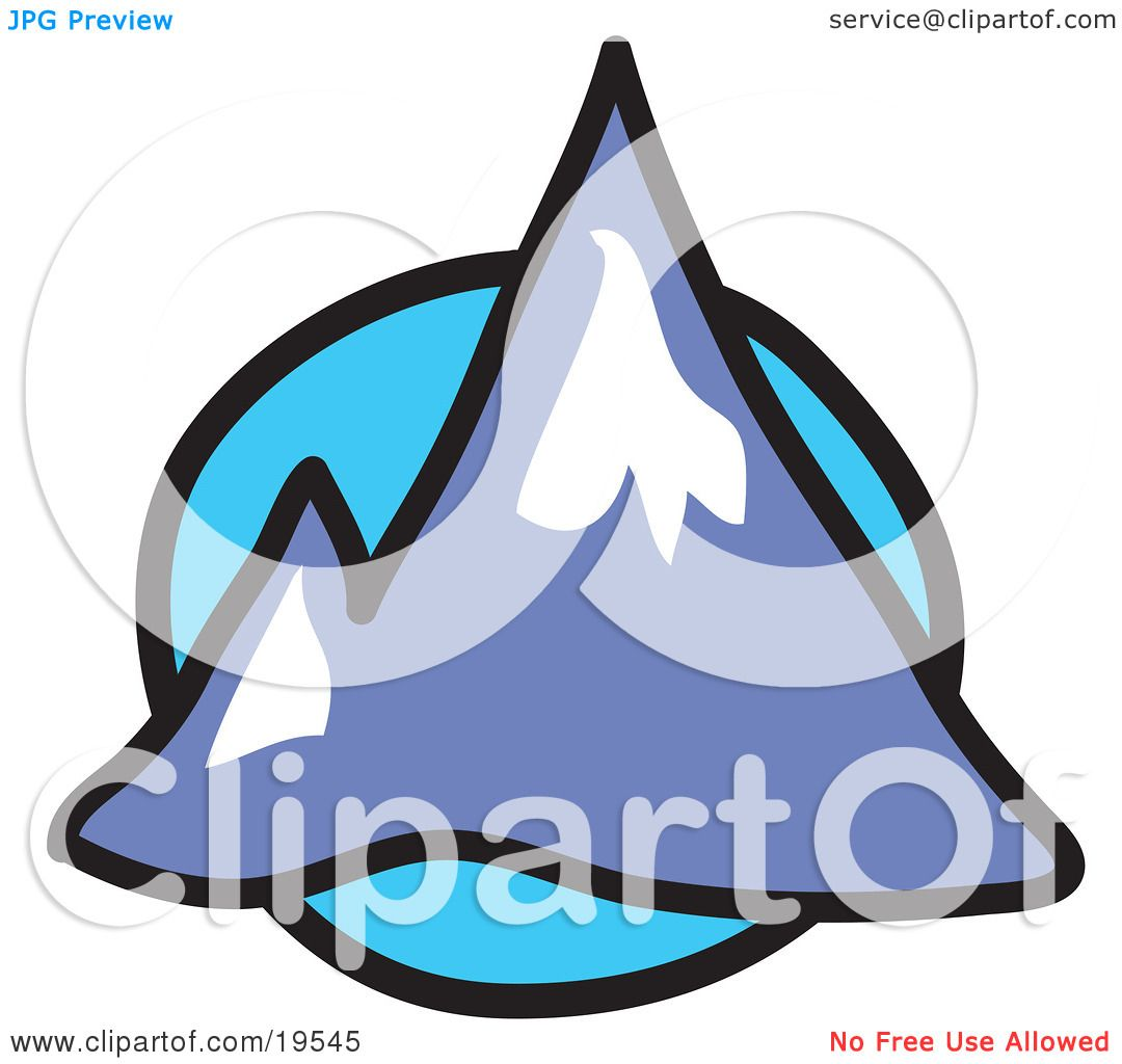 1080x1024 Peak Clipart Two Mountain