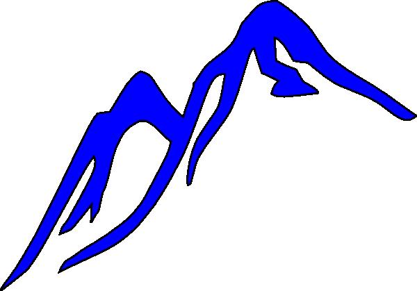 600x419 Free Mountain Clipart Image