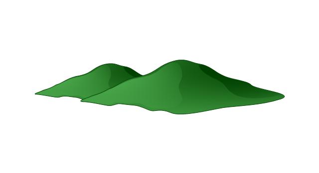 640x348 Hill Clipart Hill Mountain
