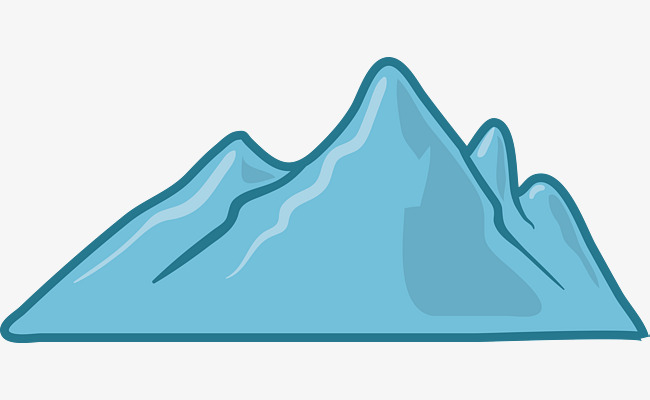 650x400 Simple Mountain Icon, Mountain, Cartoon Mountain, Cartoon