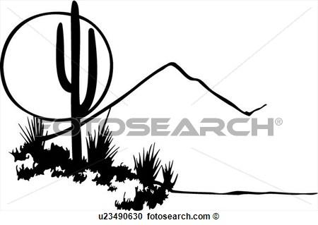450x319 Mountain Scene Black And White Clipart