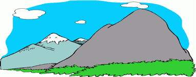 382x150 Mountain Scene Clip Art First United Methodist Church Boulder