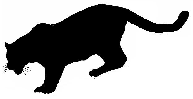 624x320 Mountain Lion Clipart Mountain Lion Silhouette Clipart