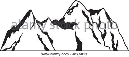 450x199 Mountain Rock Stock Vector Art Amp Illustration, Vector Image