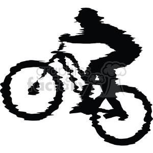 300x300 Biker Clipart Mountain Biking