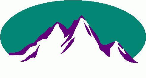 490x262 Colorado Mountains Clipart
