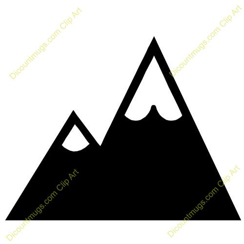 500x500 Free Clipart Mountains