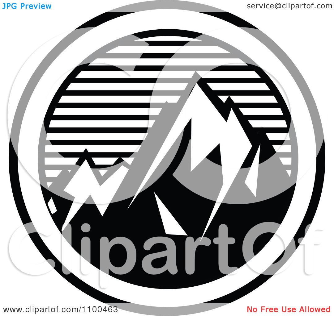 1080x1024 Mountain Clipart Circle