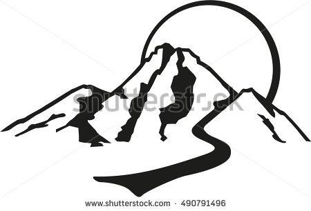 450x306 Mountain Clipart Mountain Trail