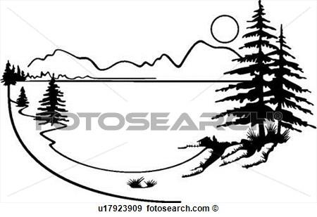 450x309 Top 52 Lake Clip Art