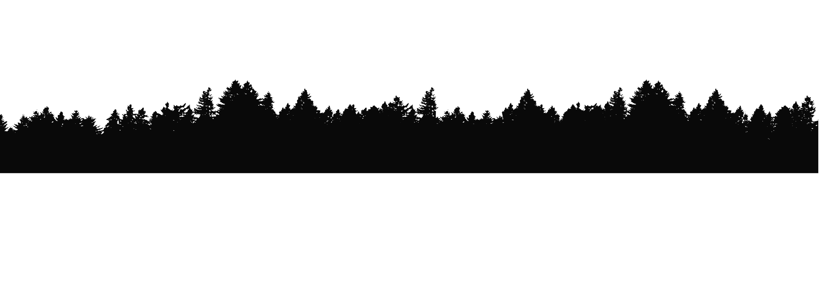 2700x993 Mountains Silhouette Clip Art Green Treeline Over (1)