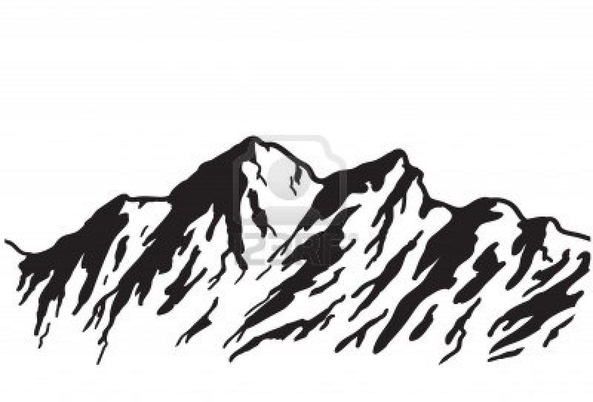 1200x813 Colorado Mountain Clipart