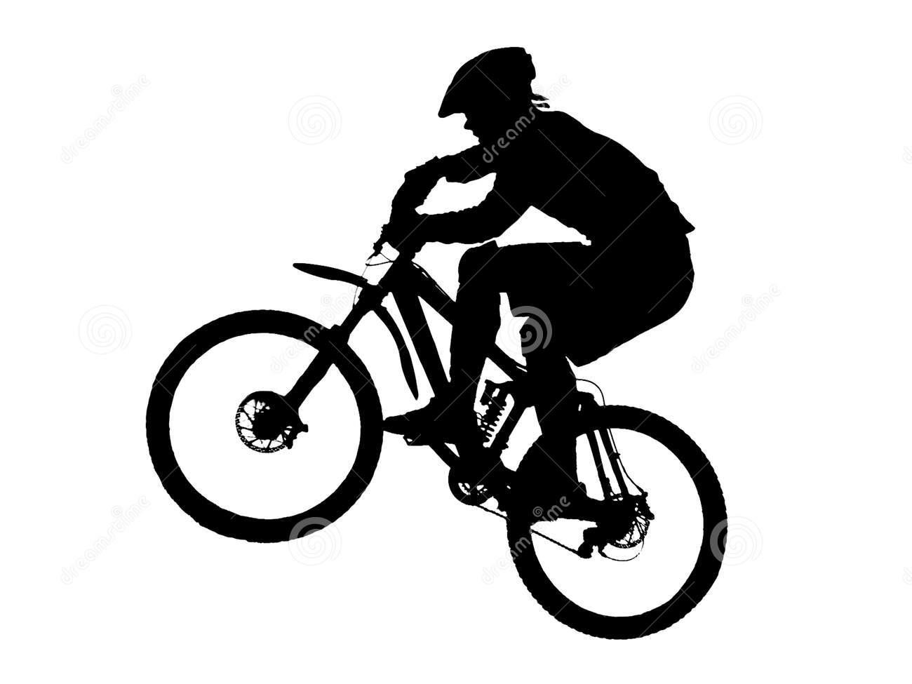 1300x975 Mountain Bike Clip Art