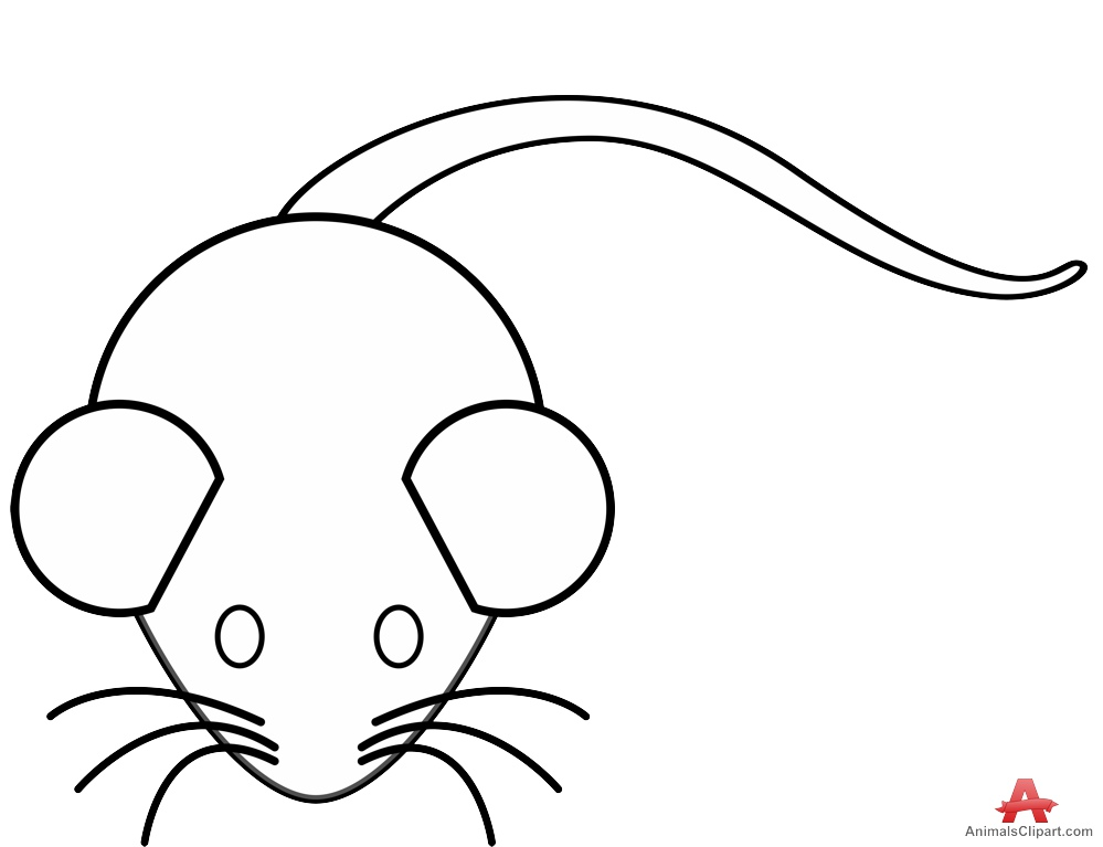 999x767 Small Mouse Outline Clipart Free Clipart Design Download