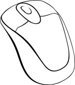 147x168 Computer Mouse Clipart Black Clipart Free Clipart Images