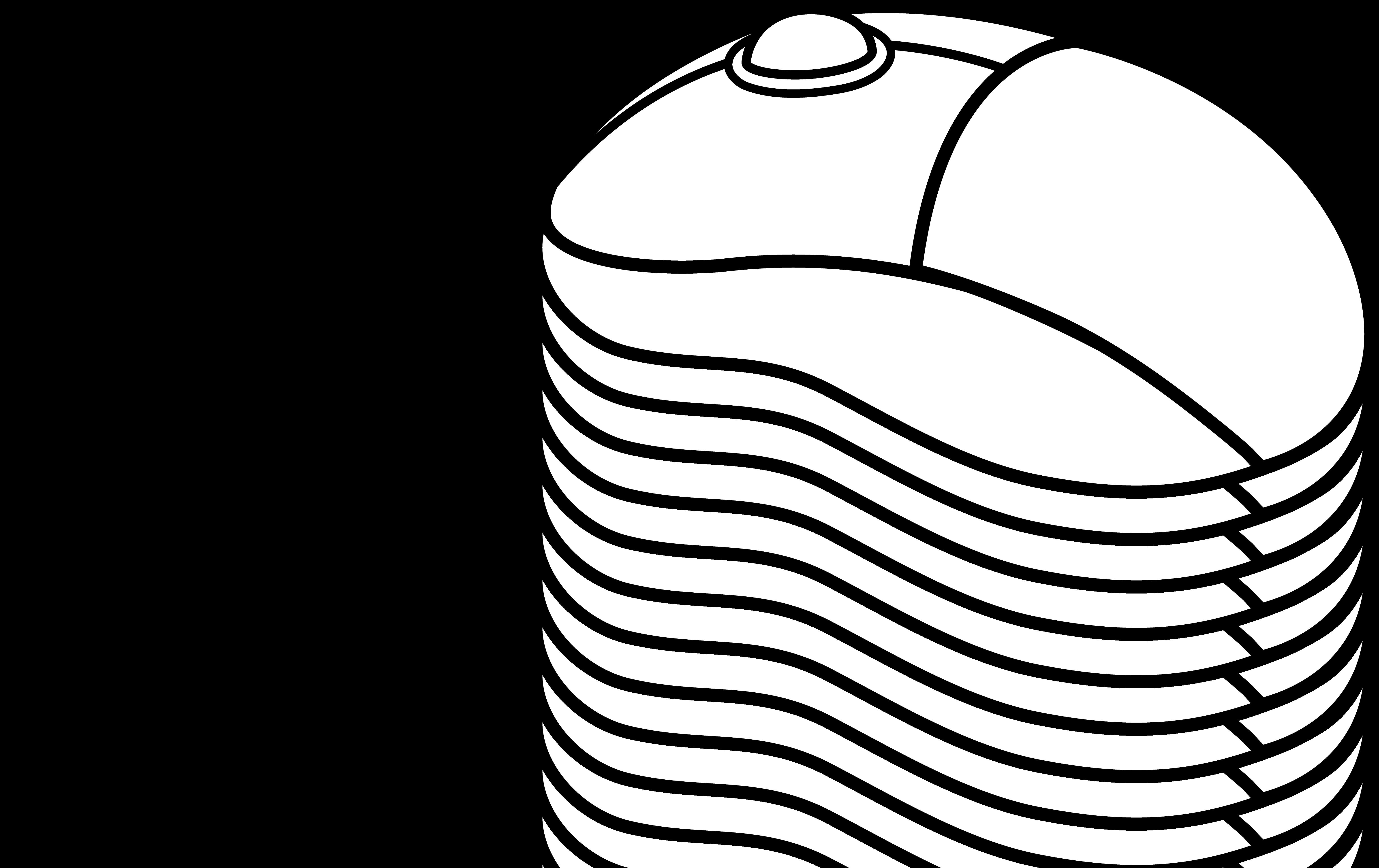 6161x3880 Computer Mouse Line Art