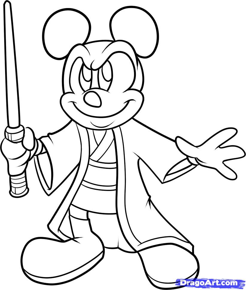 822x967 Mouse Outline Drawing