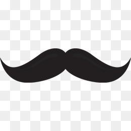 260x260 Cartoon Men Mustache Beard, Cartoon, Men'S, Moustache Png