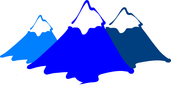 600x317 New High Def Mountain Clip Art
