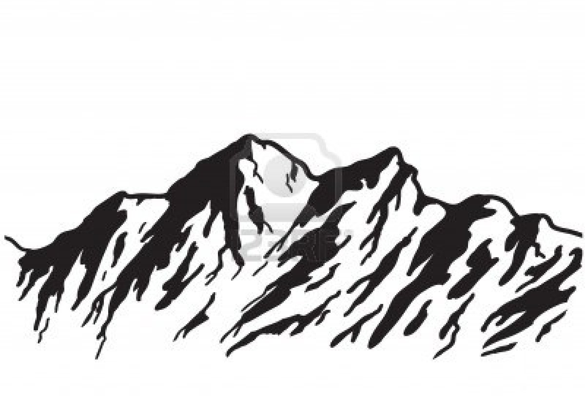1200x813 Colorado Mountain Clipart