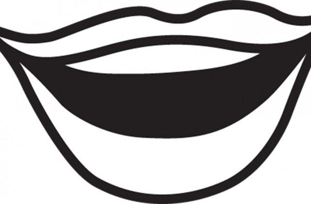640x420 Monochrome Clipart Mouth
