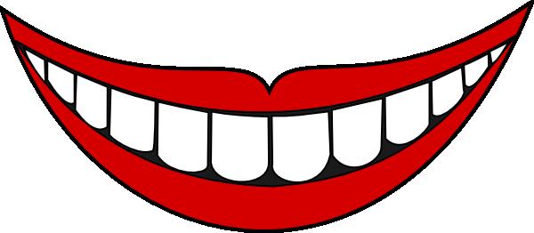 600x262 Mouth Clip Art