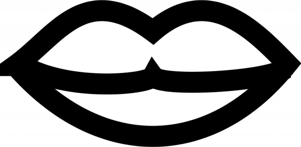 1023x500 Lips Black And White Cartoon Lips Clipart Free Download Clip Art