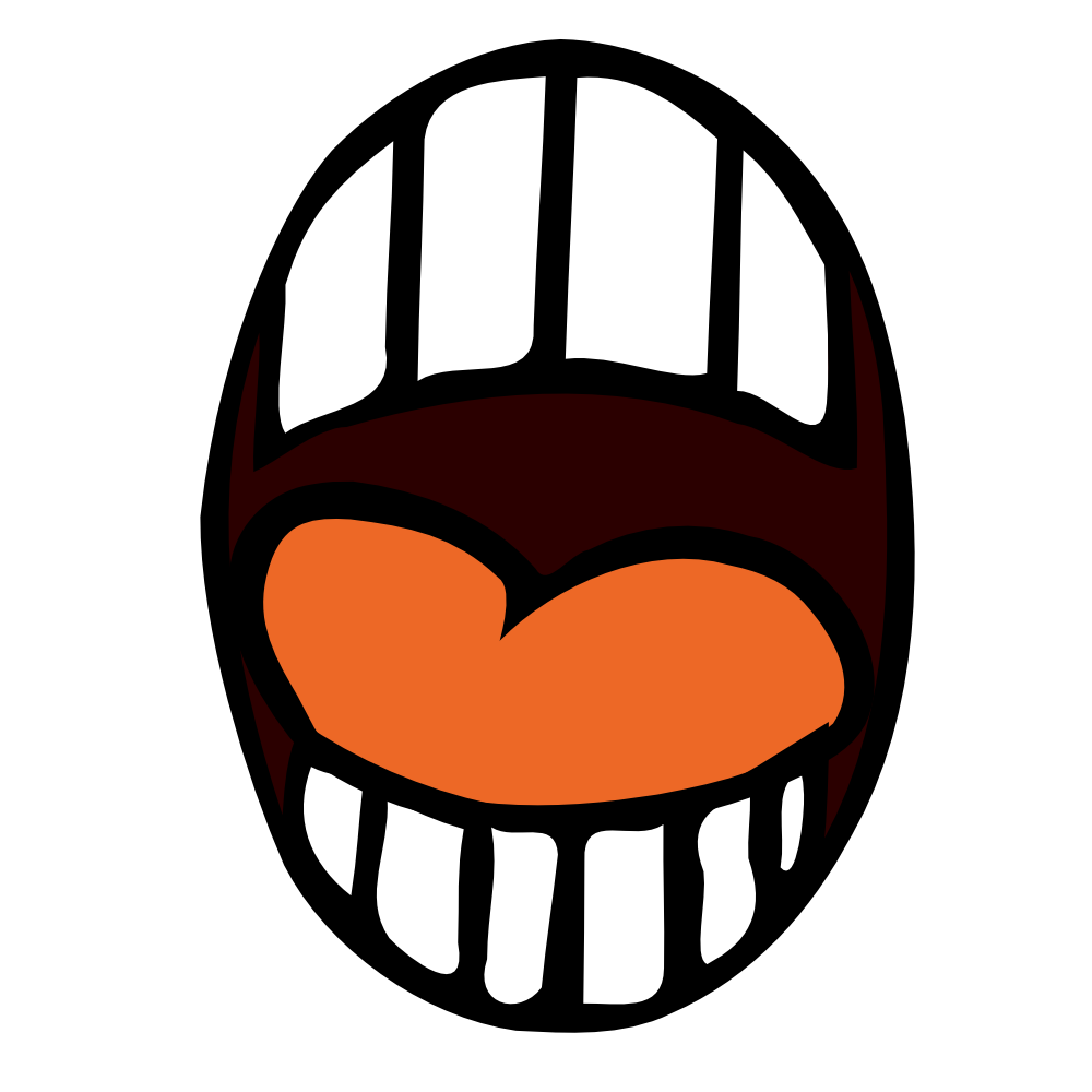 1000x1000 Open Mouth Clipart Many Interesting Cliparts