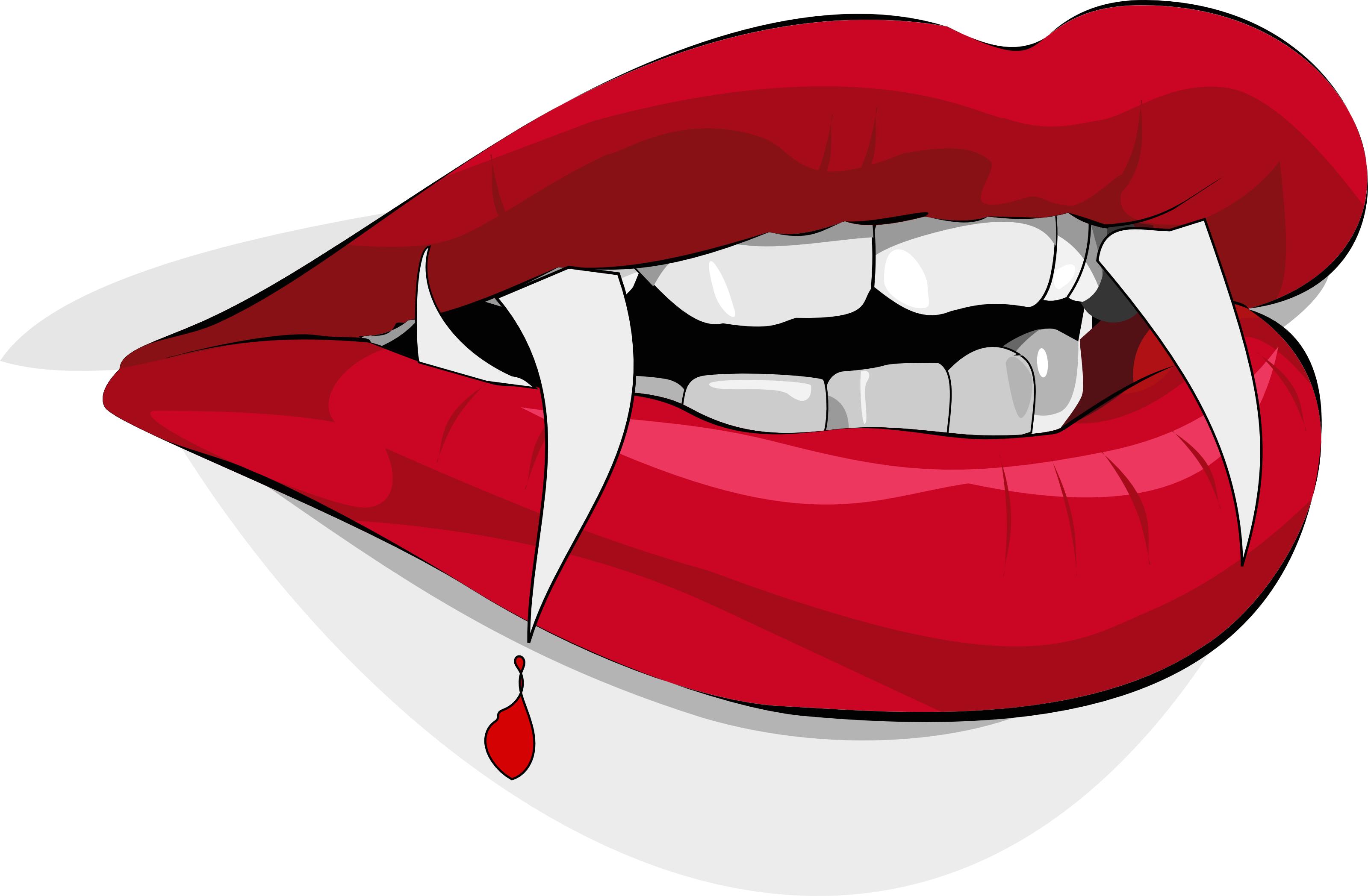 3200x2097 Bloody Vampire Lips