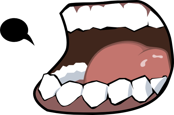 600x397 Clip Art Of A Mouth Clipart Panda
