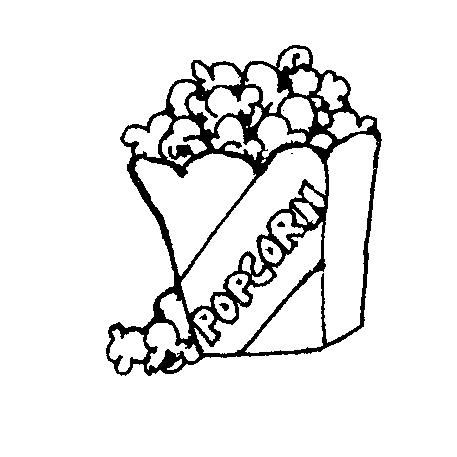 457x457 Free Popcorn Clipart