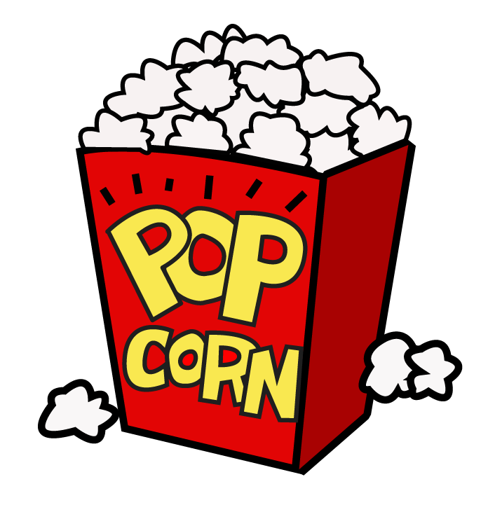 696x741 Movie Night Popcorn Clipart Free Clipart Images